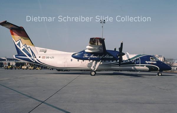 2002-02 OE-LTI Bombardier Dash 8-314B (c/n 466) Tyrolean Airways