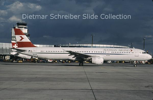 OE-LBA Airbus A321-111 (c/n 552) Austrian Airlines
