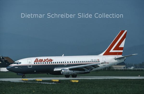 OE-ILE Boeing 737-2T5 (c/n 22023) Lauda Air