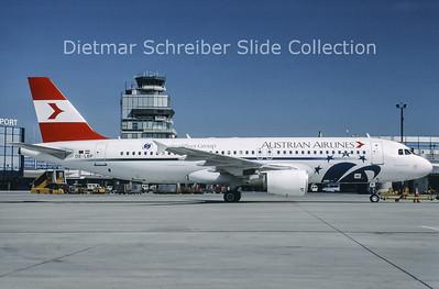 OE-LBP Airbus A320-214 (c/n 797) Austrian Airlines