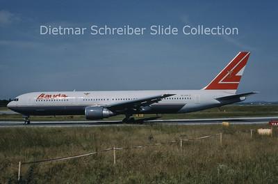 1999-06 OE-LAW Boeing 767-3Z9ER (c/n 26417) Lauda Air
