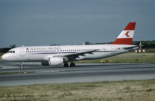 1999-06 OE-LBP Airbus A320 Austrian Airlines