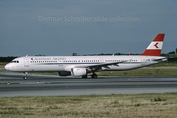 1999-06 OE-LBC Airbus A321 Austrian Airlines