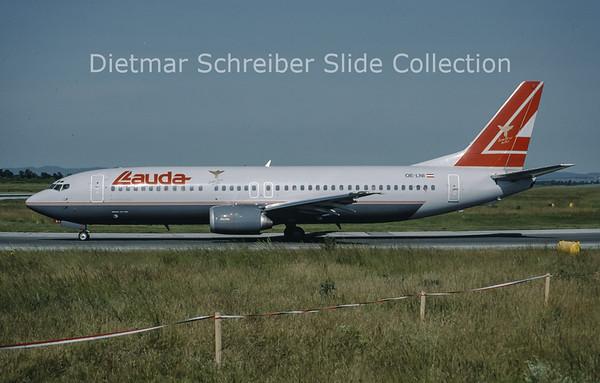 1999-06 OE-LNI Boeing 737-4Z9 (c/n 27094) Lauda Air