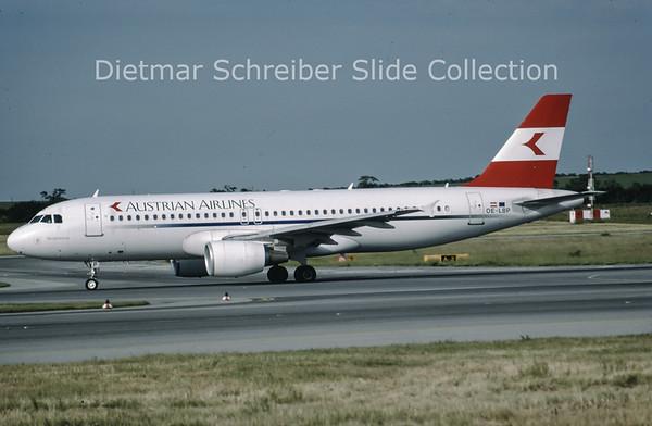 1999-06 OE-LBP Airbus A320-214 (c/n 797) Austrian Airlines