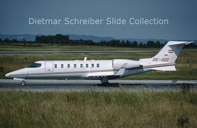 1999-06 OE-GDI Learjet 45 (c/n 45-037) Magna Air