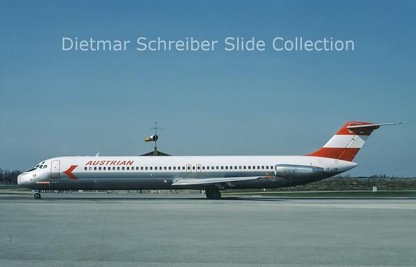 1978-04 OE-LDM Douglas DC9-51 (c/n 47726) Austrian Airlines