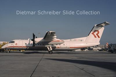 OE-LSB Bombardier Dash 8-311 (c/n 525) Rheintalflug