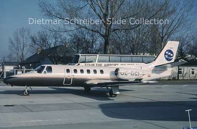1999-10 OE-GCI Cessna 550 Citation 2 (c/n 550-0041) WWW Bedarffluggesellschaft