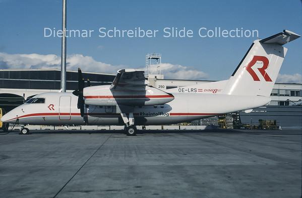 OE-LRS Dash DHC8-100 Rheintalflug