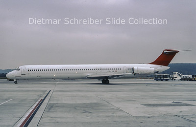 1999-10-14 OE-LDS MDD MD81 (c/n 48017) Austrian Airlines