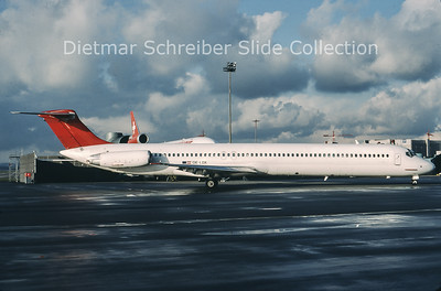 1999-12-15 OE-LDX MDD MD81 (c/n 48021) Austrian Airlines