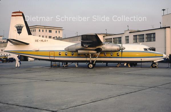OE-HLA Fokker 27 Lauda Air