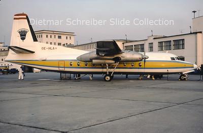 OE-HLA Fokker F27-100 (c/n 10257) Lauda Air