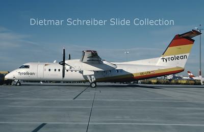 OE-LTN Bombardier Dash 8-314 (c/n 531) Tyrolean Airways