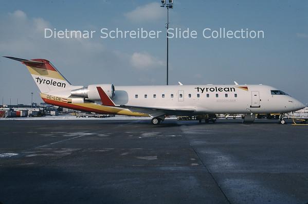 OE-LCN Bombardier Regionaljet 200LR (c/n 7365) Tyrolean Airways