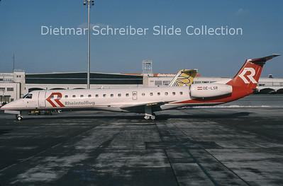 OE-LSR Embraer 145MP (c/n 14500203) Rheintalflug