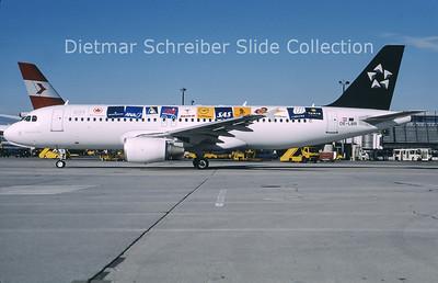 OE-LBR Airbus A320-214 (c/n 1150) Austrian Airlines