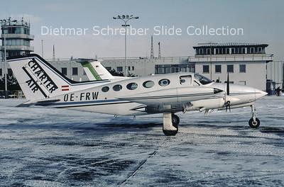 2000-02 OE-FRW Cessna 414 (c/n 414-0825) Charter Air