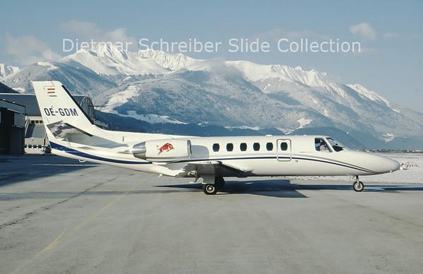 2000-02-21 OE-GDM Cessna 550 Ciation 2 (c/n 550-0707) Flying Bulls
