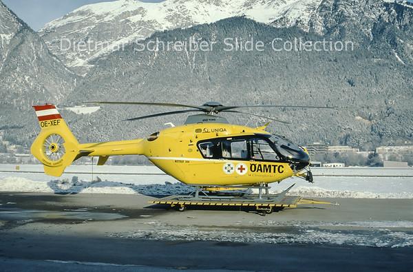 1999-12-23 OE-XEF Eurocopter EC135 (c/n 0127) Heli Air