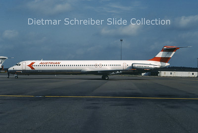 OE-LDP MDD MD81 (c/n 48015) Austrian Airlines