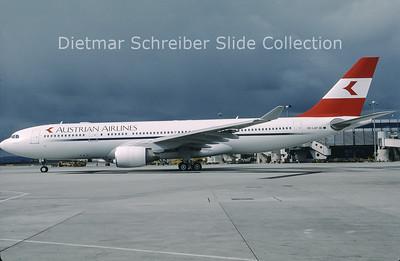 OE-LAP Airbus A330-223 (c/n 317) Austrian Airlines