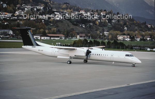 OE-LGC Dash DHC8-400 Tyrolean Airways