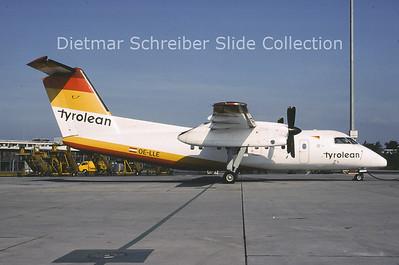 2001-07 OE-LLE Dash DHC8-100 Tyrolean Airways