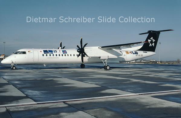 2000-12 OE-LGC Bombardier Dash 8-402 (c/n 4026) Tyrolean Airways