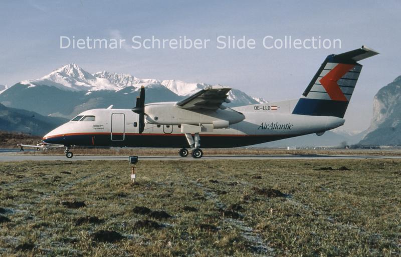 OE-LLO Dash DHC8-100 Air Atlantic