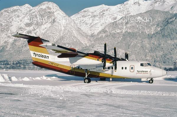 1995-01-14 OE-LLU DHC Dash 7-100 (c/n 113) Tyrolean Airways