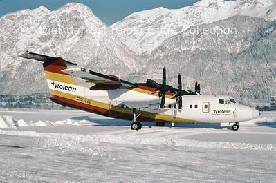 1995-01-14 OE-LLU Dash DHC7 Tyrolean Airways