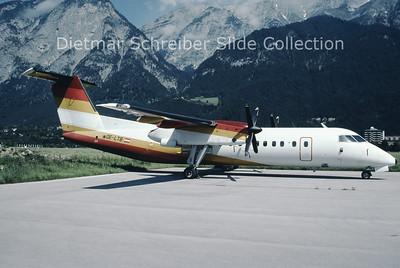 1998-07-18 OE-LTB Bombardier Dash 8-314 (c/n 250) Tyrolean Airways