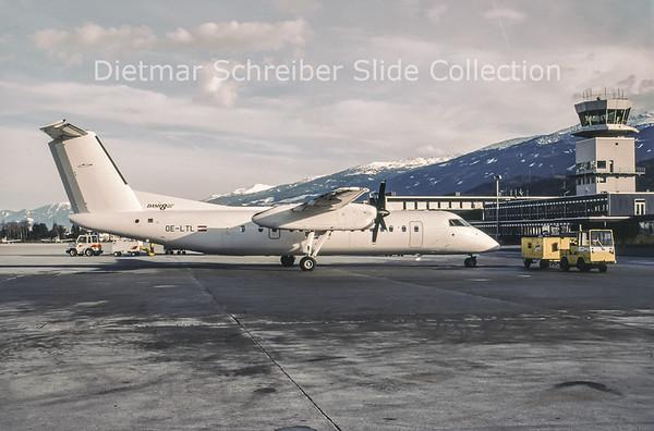 1997-12-18 OE-LTL Bombardier Dash 8-311 (c/n 485) Tyrolean Airways