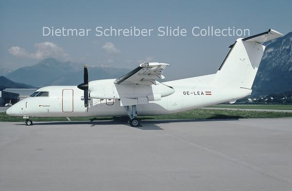 1992-06 OE-LEA Bombardier Dash 8-103A (c/n 310) Tyrolean Airways