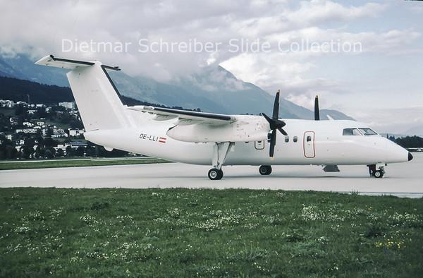 1994-08-29 OE-LLI Bombardier Dash 8-103A (c/n 243) Tyrolean Airways