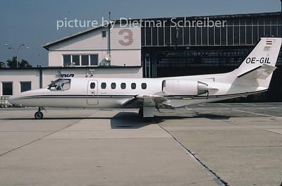 2001-09 OE-GIL Cessna 550 Citation 2 Air Styria