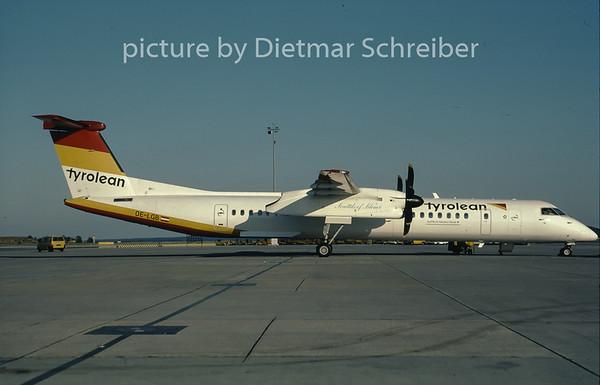 2001-08 OE-LGB Dash DHC8-400 Tyrolean Airways