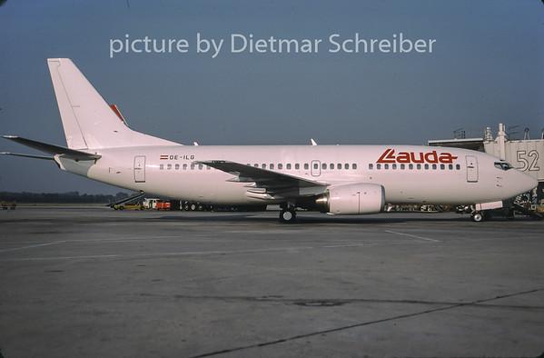 2001-09 OE-ILG Boeing 737-300 Lauda Air