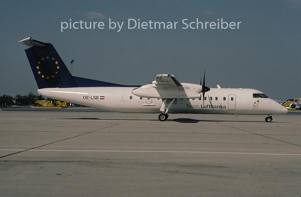 2001-08 OE-LSB Dash DHC8-300 Rheintalflug