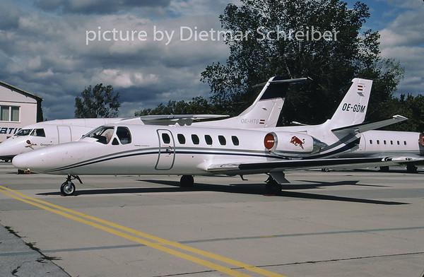2001-09 OE-GDM Cessna 550 Citation 2 Flying Bulls