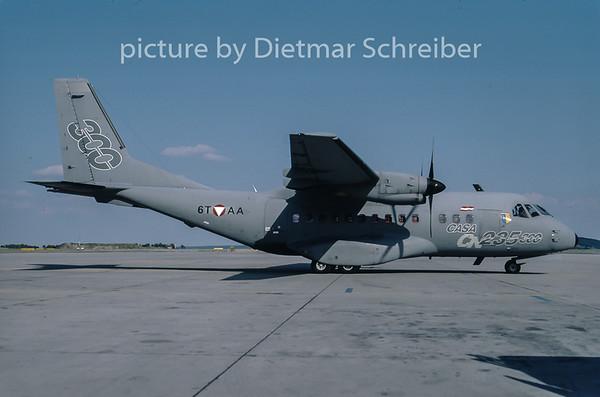 2001-07 6T-AA CASA 235 Austrian Air Force