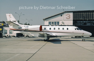 2001-09 OE-GME Cessna 560XL