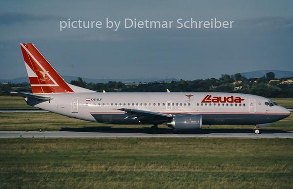 2001-09 OE-ILF Boeing 737-300 Lauda Air