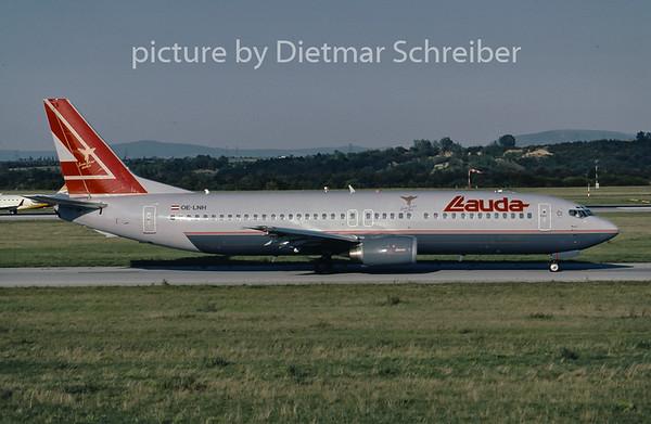 2001-09 OE-LNH Boeing 737-400 Lauda Air
