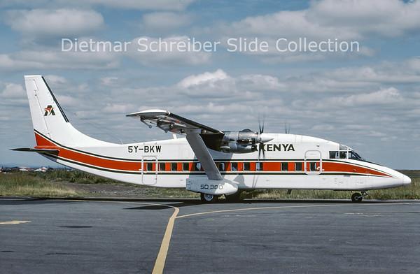 2000-07 5Y-BKW Shorts 360 Air Kenya