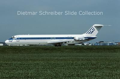 1983-04 OH-LNF Douglas DC9-40 TAT European Airlines