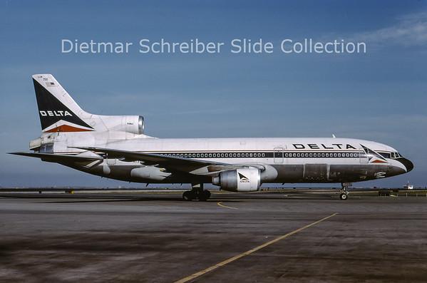 2001-03 N755DL Lockheed L1011-500 Tristar (c/n 1181) Delta Airlines