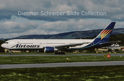 2001-10 G-DIMB Boeing 767-31KER (c/n 28865) Airtours
